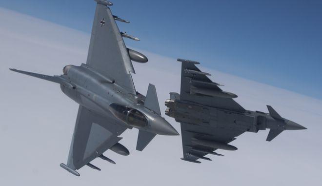 Αεροσκάφη Eurofighter (ΦΩΤΟ ΑΡΧΕΙΟΥ)
