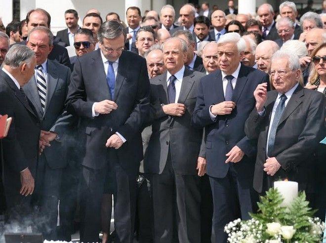 Καραμανλής : Η απουσία του Κωνσταντίνου Καραμανλή είναι πολύ μεγάλη