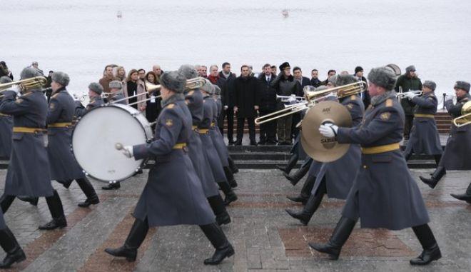Επίσκεψη εργασίας του Πρωθυπουργού ΑΛέξη Τσίπρα στην Μόσχα, την Παρασκευή 7 Δεκεμβρίου 2018. (EUROKINISSI/ΓΡ. ΤΥΠΟΥ ΠΡΩΘΥΠΟΥΡΓΟΥ/ANDREA BONETTI)