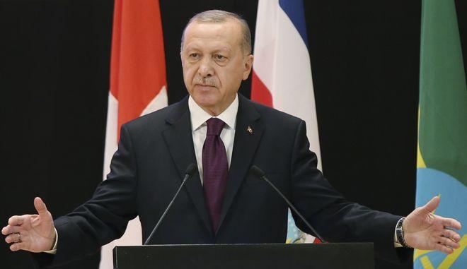 Ο Ρετζέπ Ταγίπ Ερντογάν