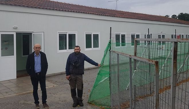 Πλημμύρισε ολοκαίνουργιο σχολείο στη Λάρισα