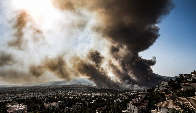 Η φωτιά στη βορειοανατολική Αττική. Όταν άρχισε ο εφιάλτης