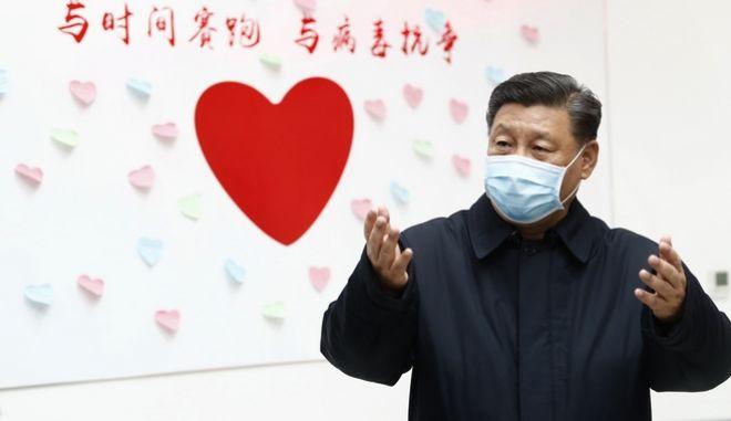 Ο πρόεδρος της Κίνας, Σι Τζινπίνγκ