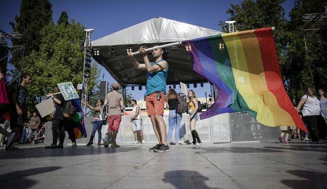 Στιγμιότυπο από το Athens Pride