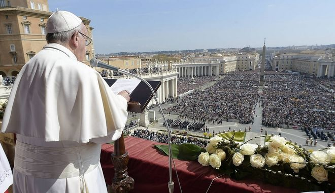 Πάπας Φραγκίσκος: Πολεμήστε την τρομοκρατία με τα 'όπλα της αγάπης'