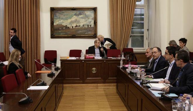 Η Εξεταστική Επιτροπή για τη διερεύνηση σκανδάλων στο χώρο της Υγείας κατά τα έτη 1997- 2014 συνεδρίασε σήμερα, 7 Νοεμβρίου 2017, στις 11:00, με θέμα ημερήσιας διάταξης την εξέταση μαρτύρων. (EUROKINISSI / Γιάννης Παναγόπουλος)