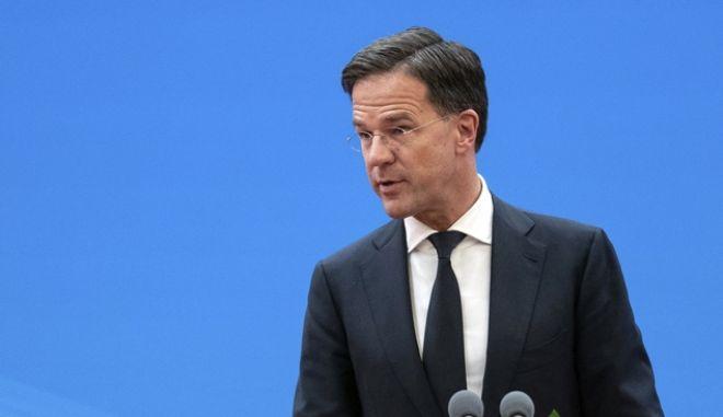 Ο πρωθυπουργός της Ολλανδίας Μαρκ Ρούτε