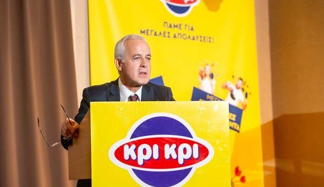 Ο Πρόεδρος και Διευθύνων Σύμβουλος της Κρι Κρι, Παναγιώτης Τσινάβος