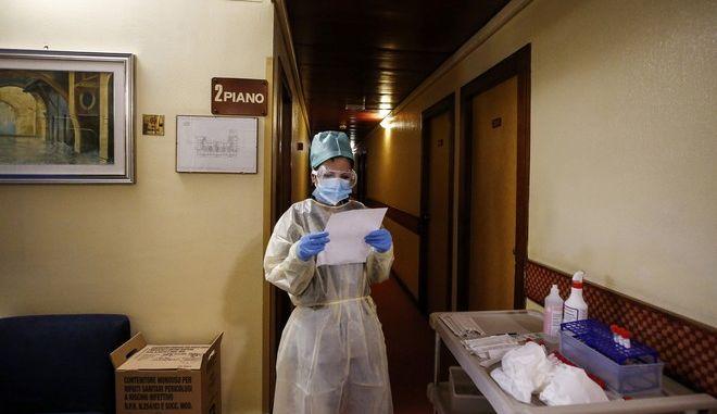 Ιατρικό προσωπικό στην Ιταλία