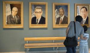 Παγκόσμιος φόρος τιμής στον Κόφι Άναν