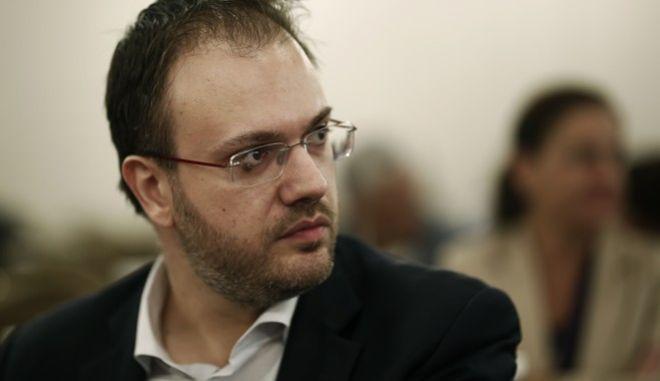 O πρόεδρος της ΔΗΜΑΡ,  Θ. Θεοχαρόπουλος