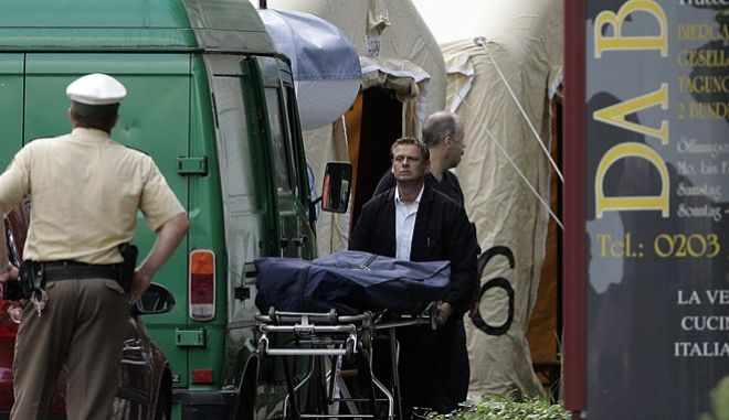 Το 'μακελειό του Duisburg', το 2007 ήταν η πρώτη φορά που μέλη της Ndrangheta συνελήφθησαν να δρουν εκτός Ιταλίας. Δεκατέσσερα χρόνια αργότερα, διώκονται και Γερμανοί για το ρόλο που έπαιξαν σε 'δουλειές' των μαφιόζων.