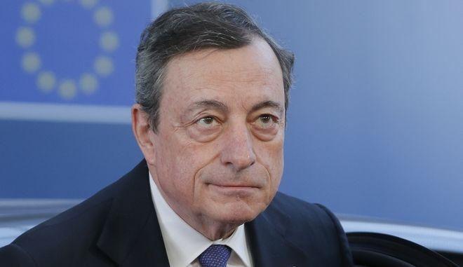Πρόεδρος της Ευρωπαϊκής Κεντρικής Τράπεζας, Mario Draghi