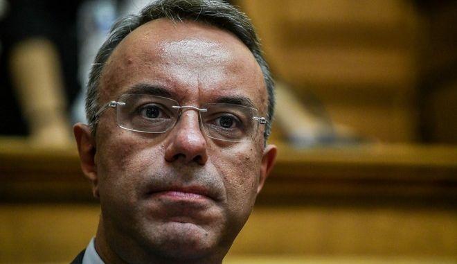 Ο Χρήστος Σταϊκούρας (EUROKINISSI/ ΤΑΤΙΑΝΑ ΜΠΟΛΑΡΗ)
