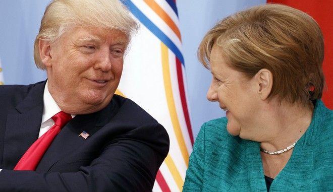 Ο πρόεδρος των ΗΠΑ με την καγκελάριο της Γερμανίας σε παλαιότερη συνάντηση