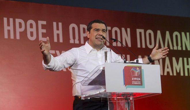 """Τσίπρας από Θεσσαλονίκη: """"Να υπερασπιστούμε τις κατακτήσεις μας, να διαφυλάξουμε τα μέτρα στήριξης για τους πολλούς"""""""