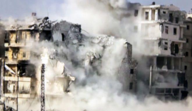 Τουλάχιστον 27 νεκροί από τις αεροπορικές επιδρομές στο Χαλέπι
