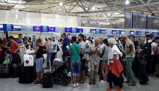 Αυξημένη η κίνηση στα αεροδρόμια της χώρας