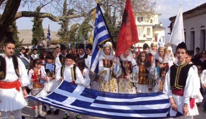 Με εθνική υπερηφάνεια κορυφώθηκαν οι εκδηλώσεις στον ελληνισμό της Αλβανίας