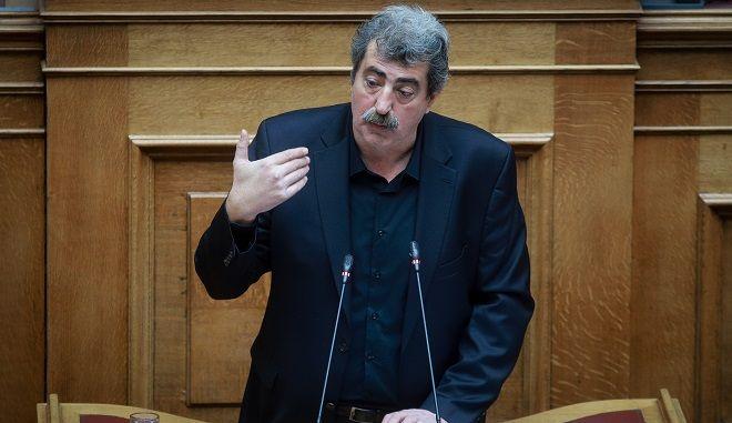 Φωτό αρχείου: Στο βήμα της Βουλής ο Παύλος Πολάκης