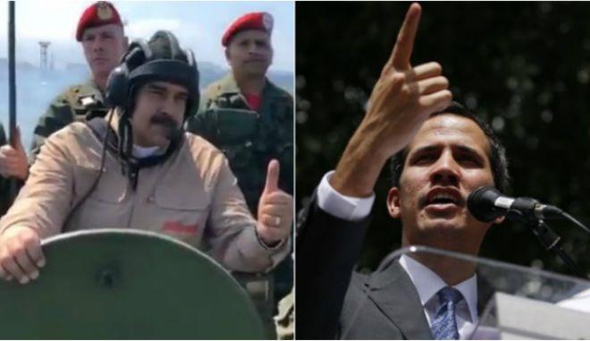 """Βενεζουέλα: Ο Γκουαϊδό μιλά σαν """"ηγέτης"""" - Στα άρματα ο Μαδούρο"""