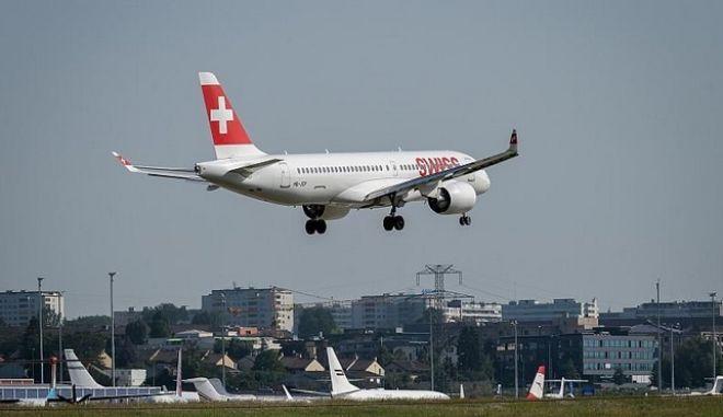 Αεροσκάφος της Swiss