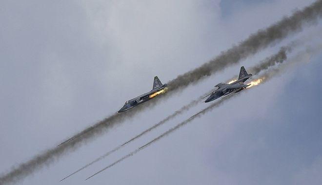 Πάνω από 70 ρωσικές αεροπορικές επιδρομές στην Παλμύρα της Συρίας