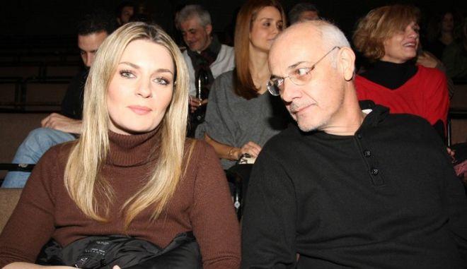 Ελισάβετ Μουτάφη και Γιώργος Κιμούλης
