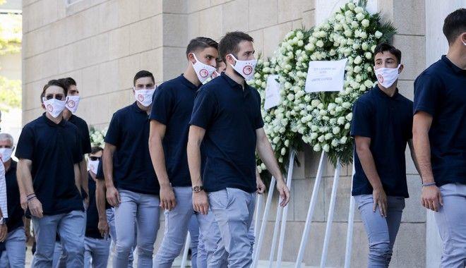 Κηδεία Σάββα Θεοδωρίδη.