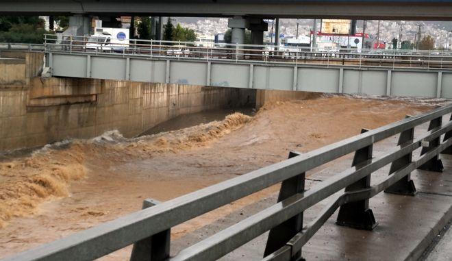 Ο ποταμός Κηφισός στο Ρέντη