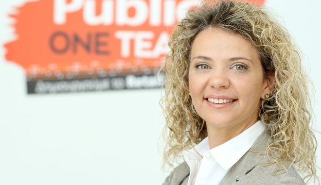 Η Κατερίνα Μαντζώρου, Διευθύντρια Ανθρώπινου Δυναμικού της Public