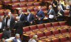 Συζήτηση νομοσχεδίου του Υπουγείου Εξωτερικών στην Ολομέλεια της Βουλής την Τετάρτη 1 Ιουνίου 2016. (EUROKINISSI/ΓΙΩΡΓΟΣ ΚΟΝΤΑΡΙΝΗΣ)