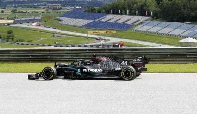 Formula 1: Ξεκίνημα με 1-2 της Mercedes στην Αυστρία