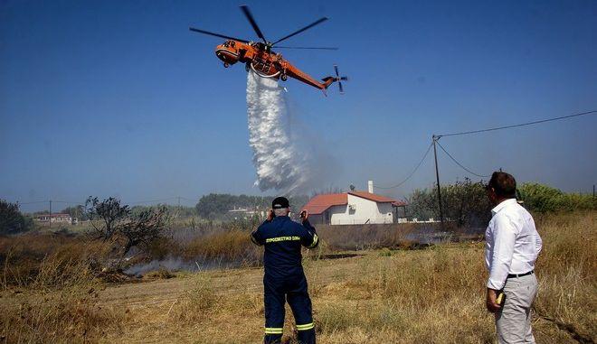 Πυρκαγιά στην Ρόδο