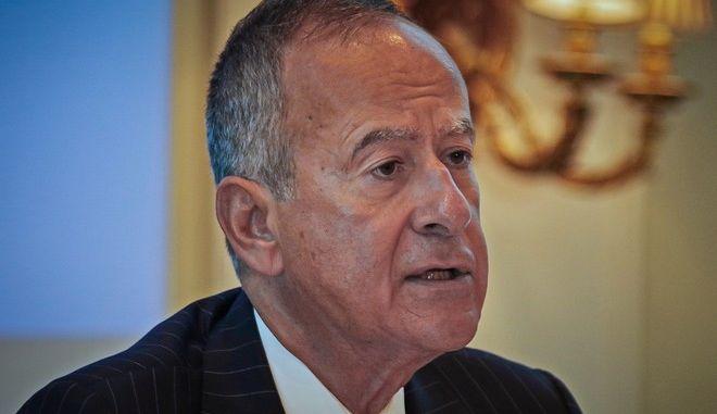 Ο Πρόεδρος της Εθνικής Τράπεζας, Κώστας Μιχαηλίδης