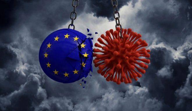 """Κορονοϊός: Το """"σύννεφο"""" της πανδημίας σκεπάζει την ΕΕ- Τηλεδιάσκεψη ηγετών στις 25 Φεβρουαρίου"""