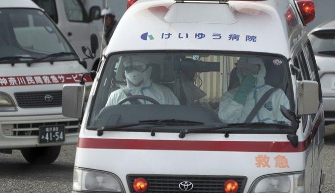 Ασθενοφόρο στην Κίνα