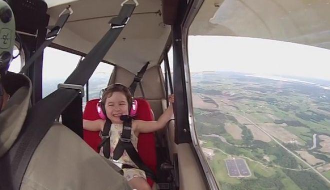 Ποιος φοβάται τα ύψη; Αυτή η 4χρονη είναι ατρόμητη