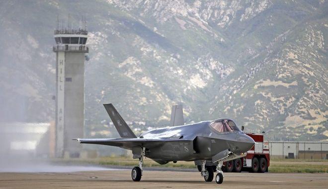 Μαχητικό F-35 σε βάση στη Γιούτα