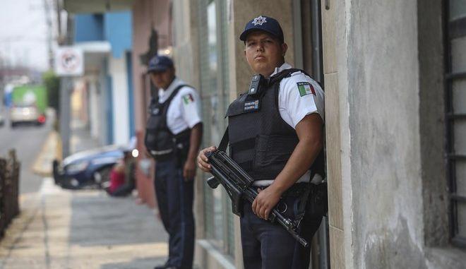 Αστυνομικοί στο Μεξικό