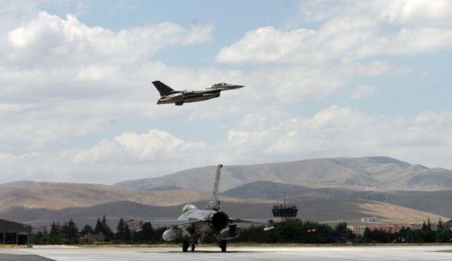 Φωτό αρχείου: Τουρκικό f-16