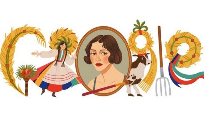 Η Google τιμά με doodle τη σπουδαία Πολωνή ζωγράφο Ζόφια Στριγένσκα