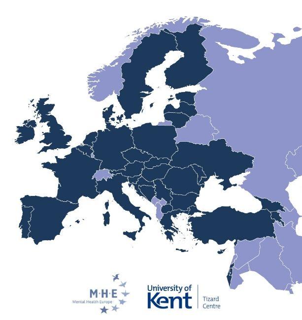 Η χαρτογράφηση του Αποκλεισμού για τα δικαιώματα στην ψυχική υγεία σε όλη την Ευρώπη