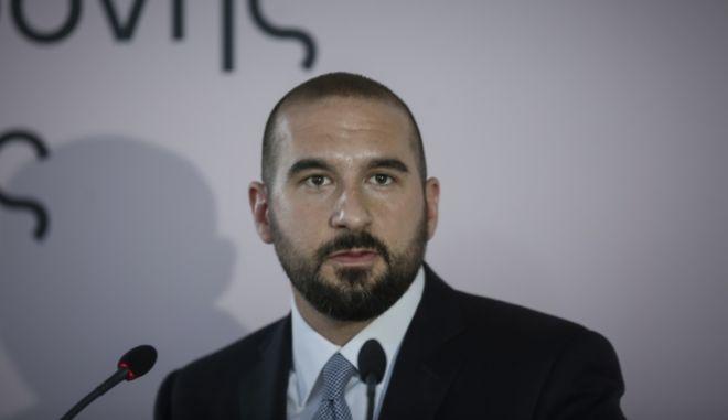Ο κυβερνητικός εκπρόσωπος Δ. Τζανακόπουλος