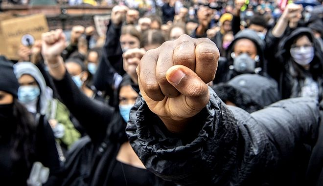 Από τις διαδηλώσεις στις ΗΠΑ