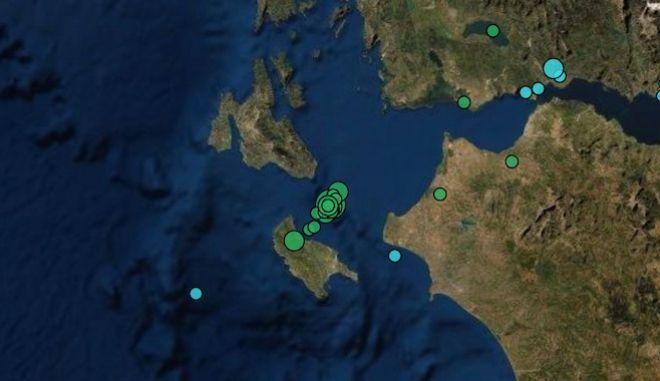 Ζάκυνθος: Σεισμός 4,3 Ρίχτερ