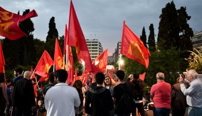 ΚΚΕ: Αισιοδοξία για τα αποτελέσματα των εκλογών