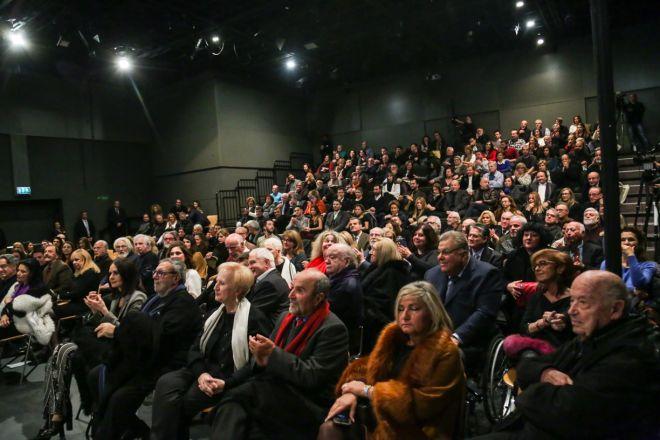Εθνικό Θέατρο: Βραδιά συγκίνησης για τον Νίκο Κούρκουλο