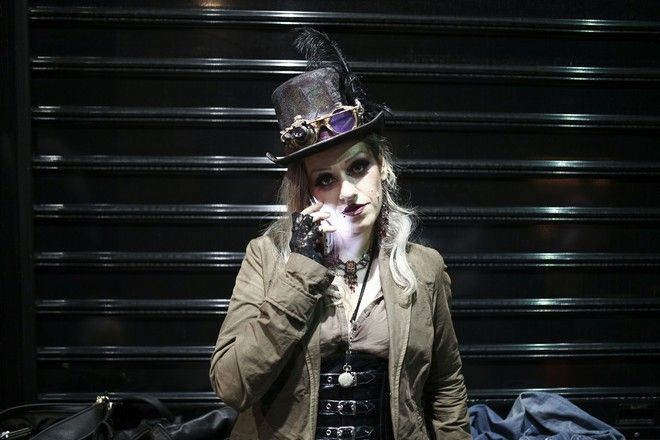 Cosplayers at FantastiCon 2017, in Athens, on Oct. 8 2017 / Cosplayers   Fantasticon 2017,  ,  8 , 2017