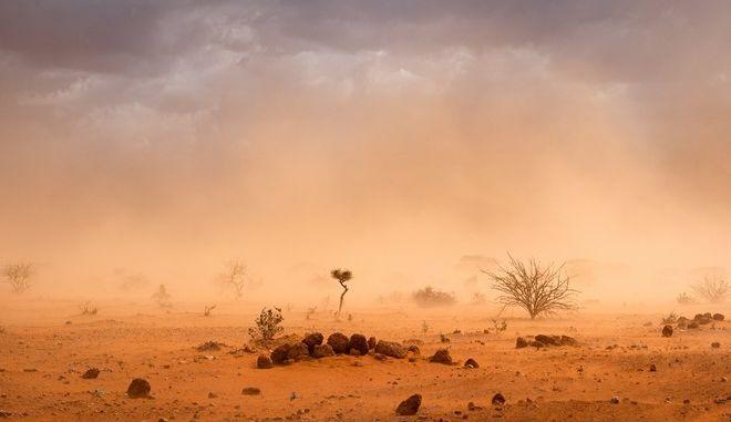 Αμμοθύελλα (φωτογραφία αρχείου)